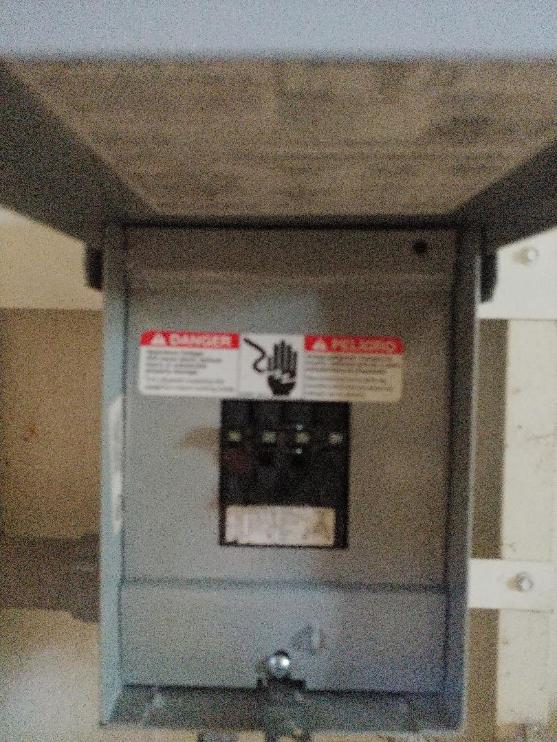 Installed new 60 amp circuit for sub panel