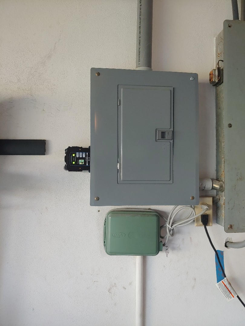 Installed surge protection