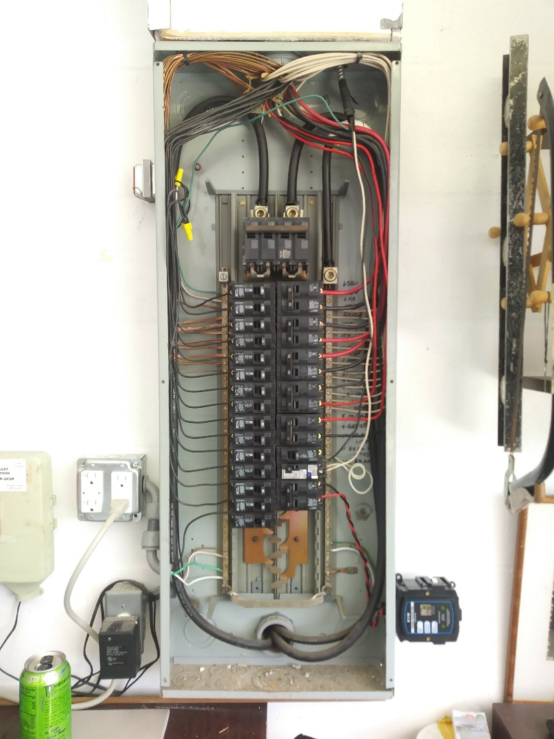 Today I have performed a panel Rejuvenation replacing all branch circuit breakers and making new clean connections on all Branch circuits. Also tightening all neutrals and grounds in the panel.