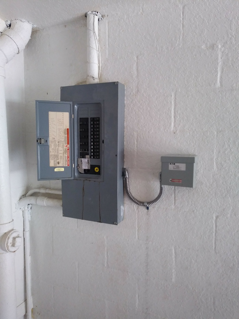 Today we have installed a 30 amp generator Inlet and breaker interlock