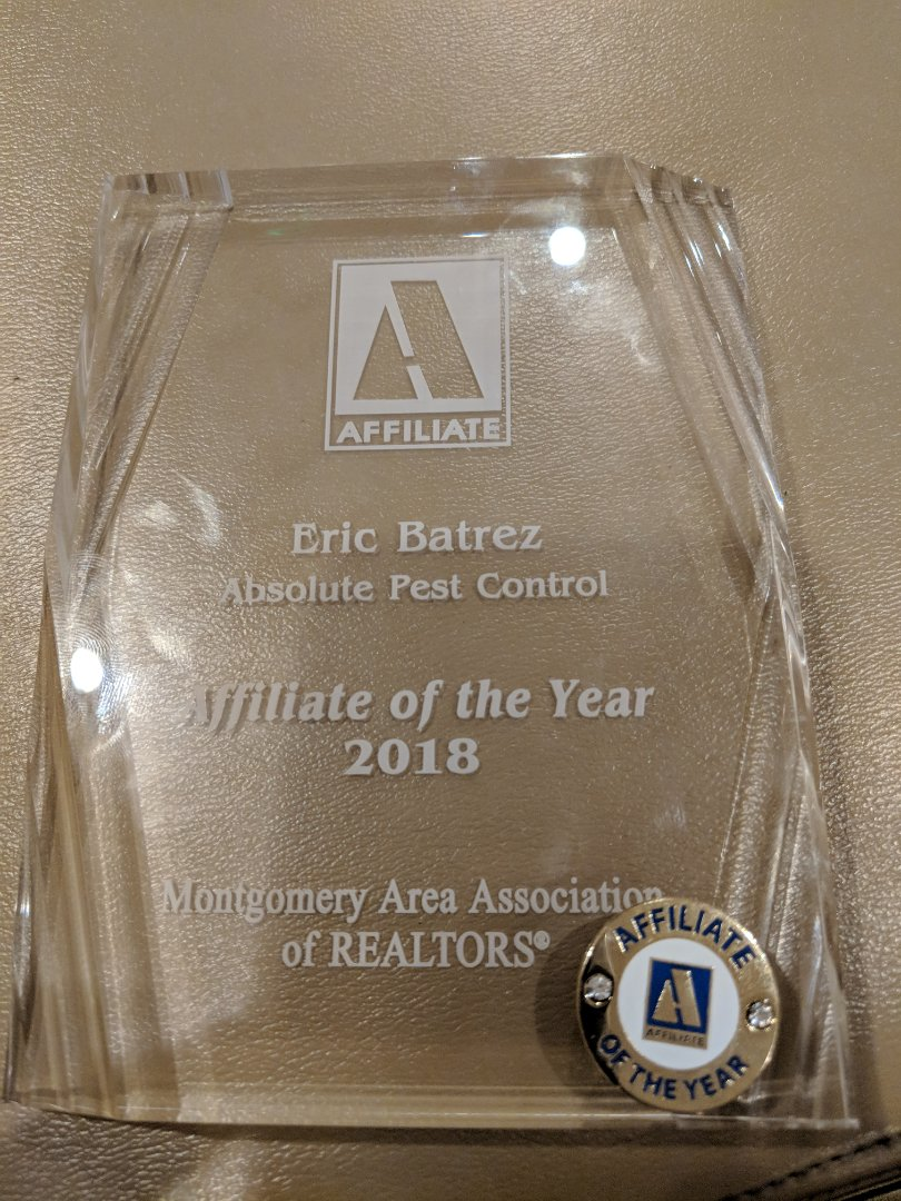 Montgomery, AL - Received the honor of affiliate of the year for the Montgomery Area Association of Realtors