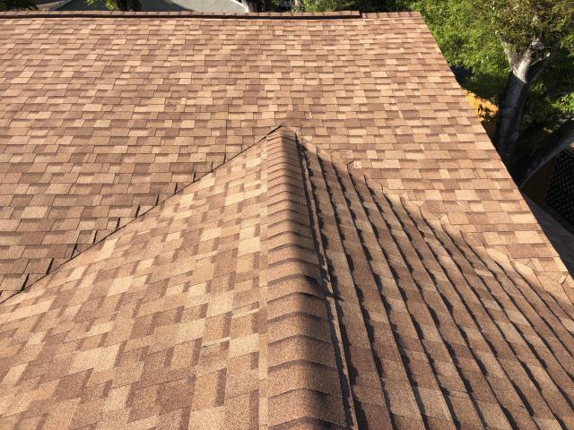Tampa, FL - We replaced the old roof with Duration Shingle by Owens Corning.  We also used Owens Corning ventsure shingle over ridge vent or Off ridge vents based on assessment of CB Roofing.