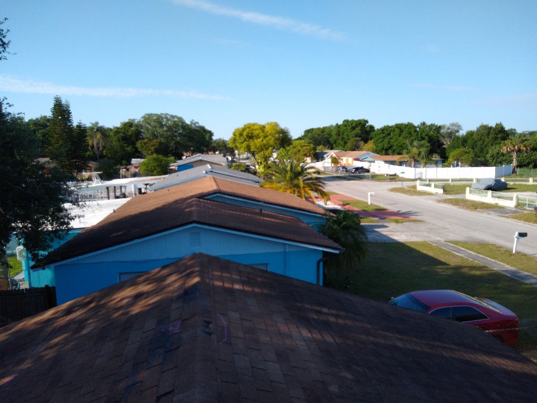 Tampa, FL - Old roofs need TLC to keep them performing.
