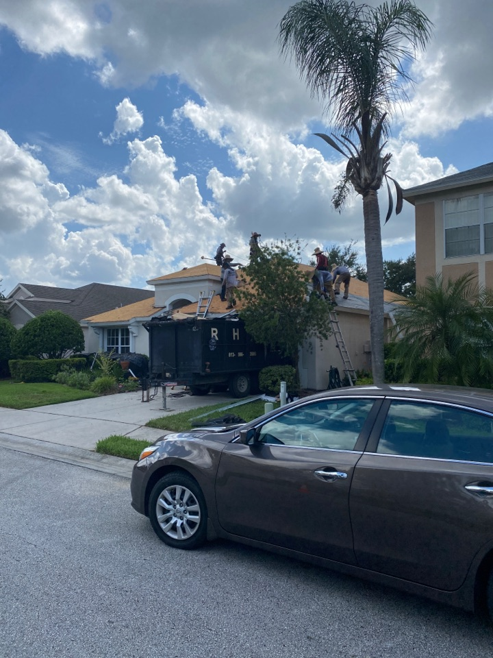 Zephyrhills, FL - HOA community re-roof replacement project full tear off and new roof install