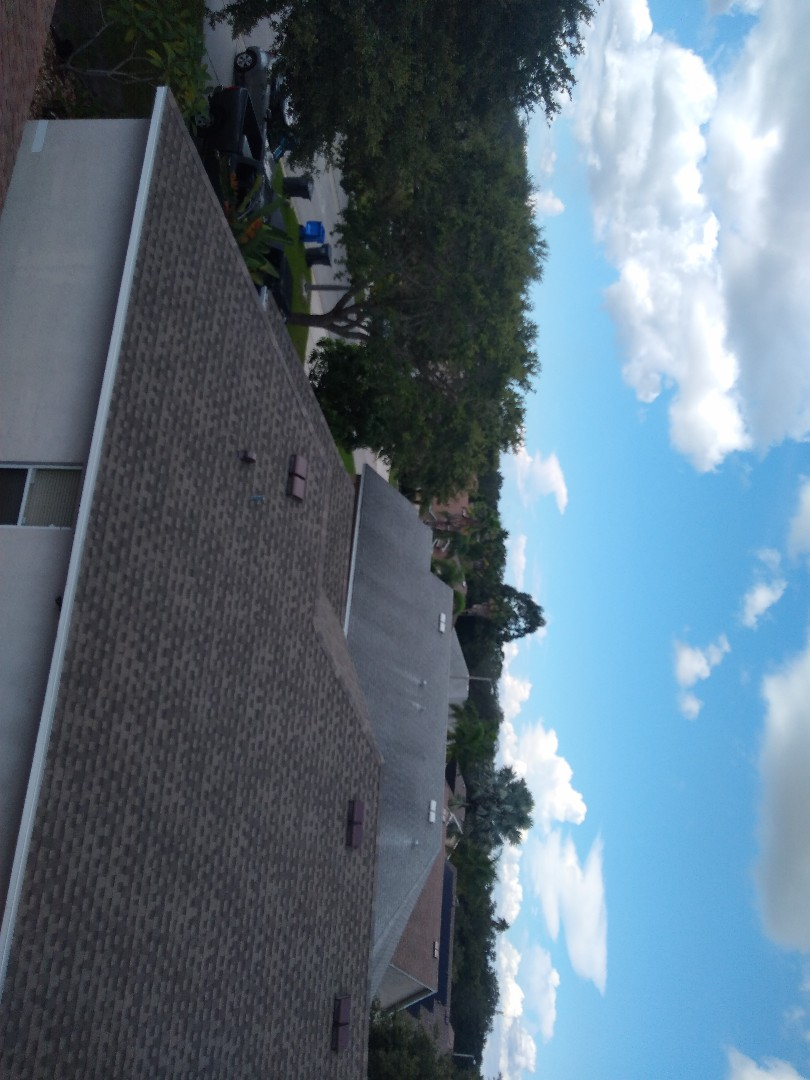 Gibsonton, FL - Roofs in this Gibsonton neighborhood are being replaced little by little as they age and expose the homes below them to damage. We offer free roof inspections because it's better to catch the problem before it catches you.