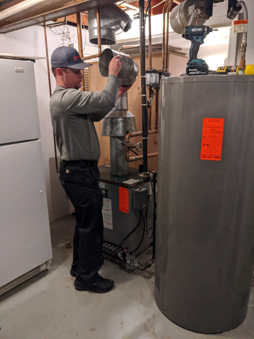 Wheat Ridge, CO - Installing a new Boiler, indirect fired water heater and attic insulation for this home in Lakewood Colorado