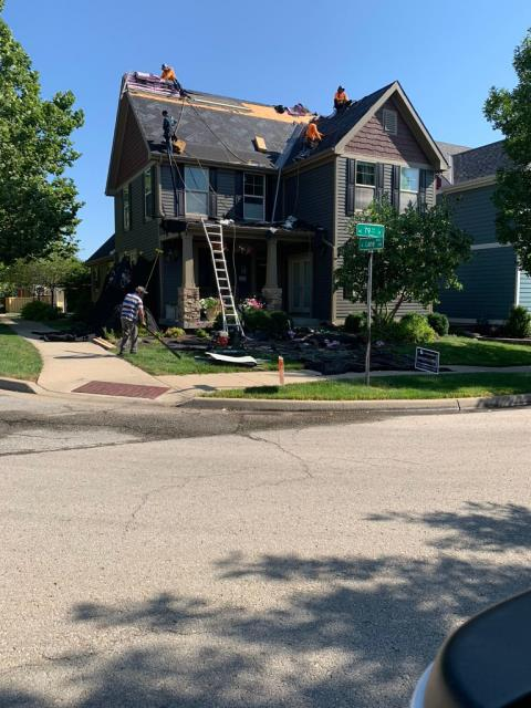 Kansas City, MO - We have just finished a new roof and gutter system. If you are looking for a roofer in your area, give us a shout. We offer roofing, guttering, siding and windows with a  free inspection!