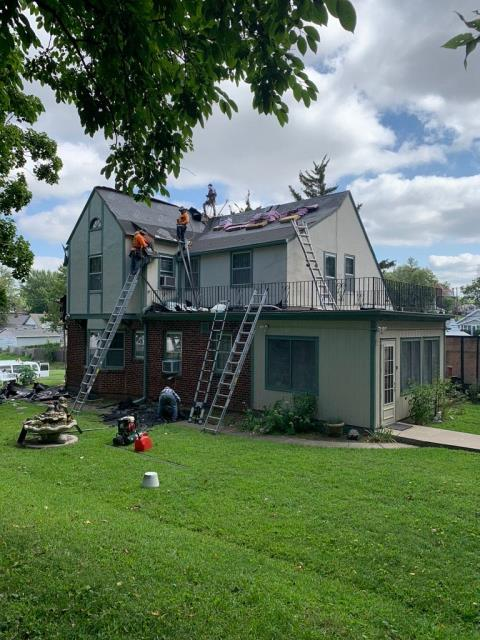 Saint Joseph, MO - We love when the realtors we work for trust us to do their personal homes! We offer free roof inspections, gutter inspections, and free energy assessments on your home. Give us a shout! We would love the opportunity to see how we can help you!