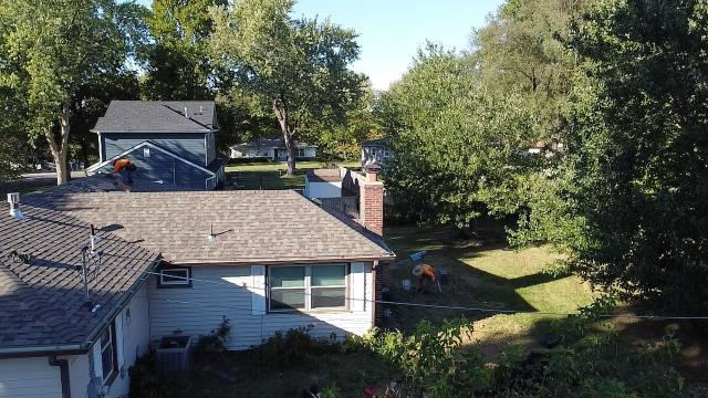 Shawnee, KS - Another roof taken care of by insurance. We have just finished the roof! Now, we are looking at adding a Solar Panel System. Our customer is very excited about the savings they will receive by Going GREEN! If you are looking for a roofer in your area, give us a shout. We offer free inspections with no obligation.