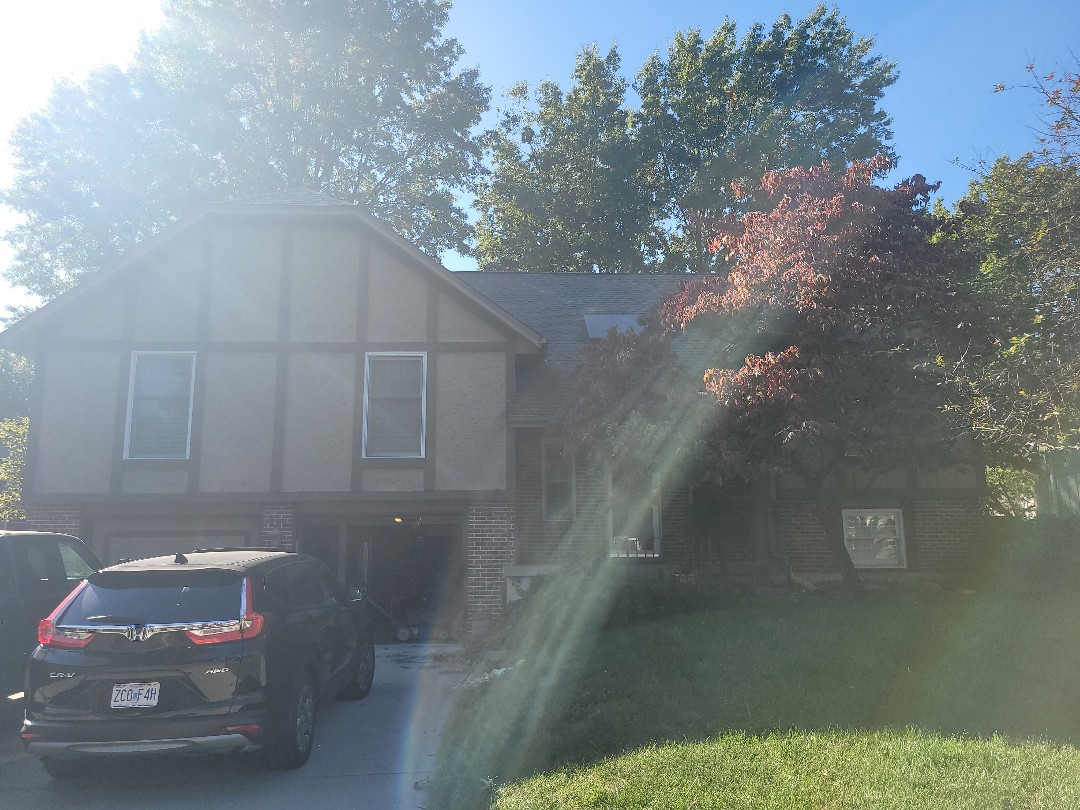 Lee's Summit, MO - Customer called us out to inspect their skylight for potential leaks. We got them fixed right up! Our team does roof inspections, gutter inspections, and full roof replacements. Give us a shout for your free inspection. No obligation. We always do the right thing for our customers.