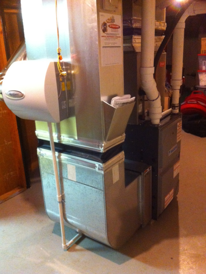 Flint, MI - Install of a new Daikin furnace