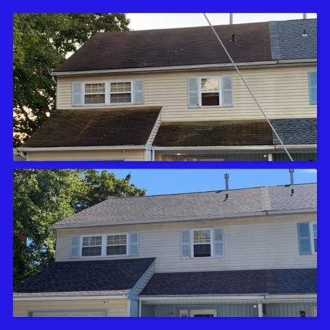 Monroe Township, NJ - New roof installation using GAF Timberline shingles in Mission Brown.