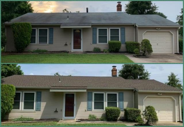 Washington Township, NJ - From faded to fabulous, complete roof replacement using GAF Timberline Barkwood shingles.