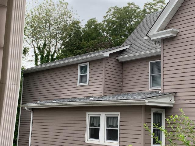 Pitman, NJ - Partial roof replacement using GAF Timberline Fox Hollow Gray shingles.