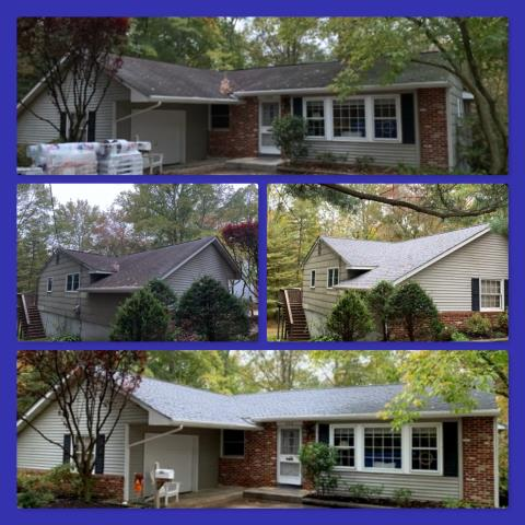 Pitman, NJ - Complete roof replacement using GAF Timberline HD shingles in Williamsburg Slate.