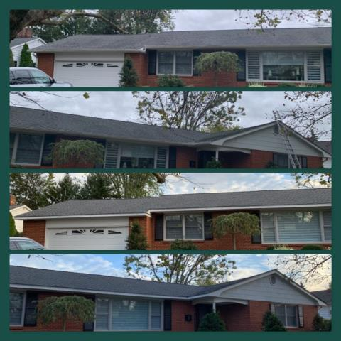 Pitman, NJ - New roof replacement using GAF Timberline HD shingles in Pewter Gray.