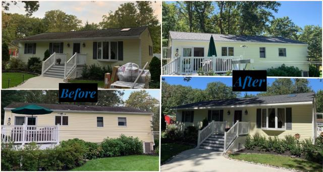 Chesilhurst, NJ - Pictures of this completed roof replacement using GAF Timberline HD shingles in Pewter Gray.