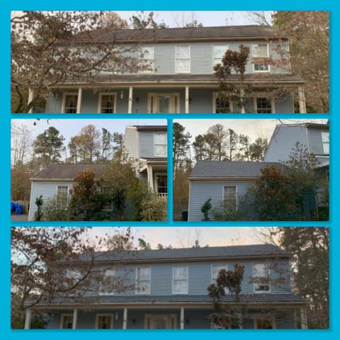 Medford, NJ - New roof installed using GAF Timberline shingles in Pewter Gray.