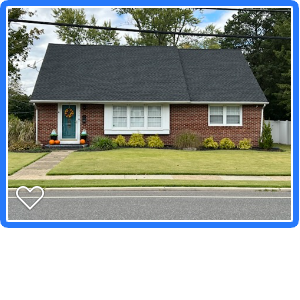 Pitman, NJ - Complete roof replacement using GAF Timberline HDZ shingles in Charcoal.