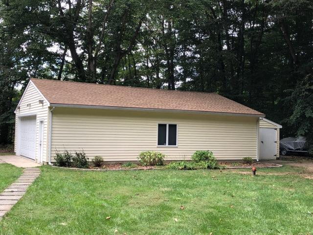 Elk, NJ - We always say no job too small! New shed roof using GAF Timberline shingles in Shakewood.