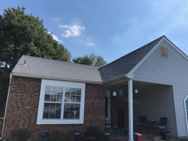 Deptford Township, NJ - Complete new roof installation using GAF Timberline shingles in Oyster Gray.