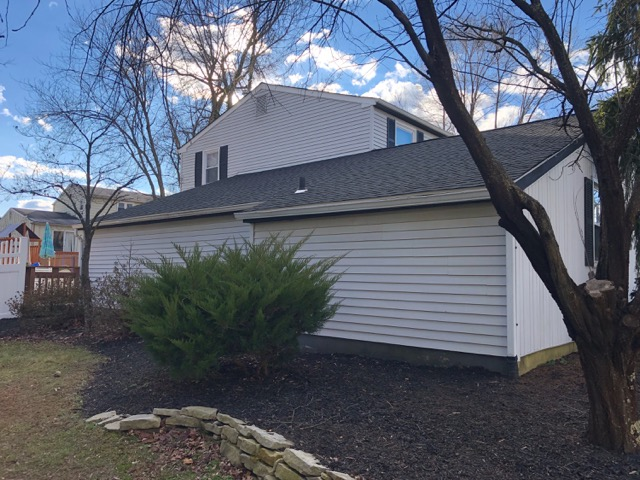 Laurel Springs, NJ - Complete new roof installation using GAF Timberline Charcoal shingles.