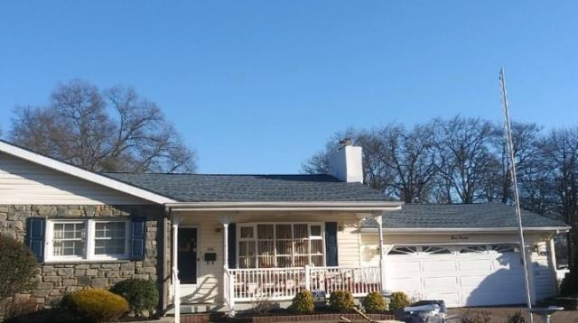 Woodbury, NJ - Complete roof installation using GAF roof system with Timberline Biscayne Blue shingles.