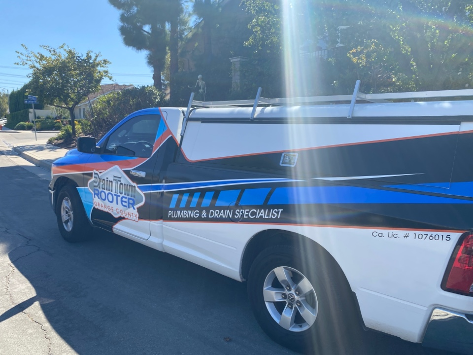 Orange, CA - Plugged mainline, emergency service plumbing, call Drain Town Rooter