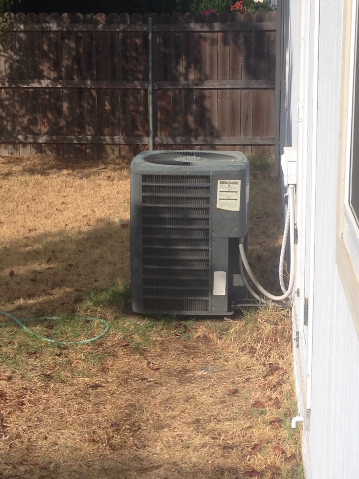 Placerville, CA - Day and night air conditioning repair on high efficiency equipment.