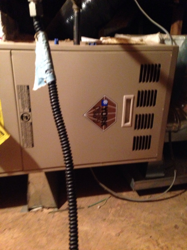 Lincoln, CA - Heat and air conditioning repair tune up and service on a York installation
