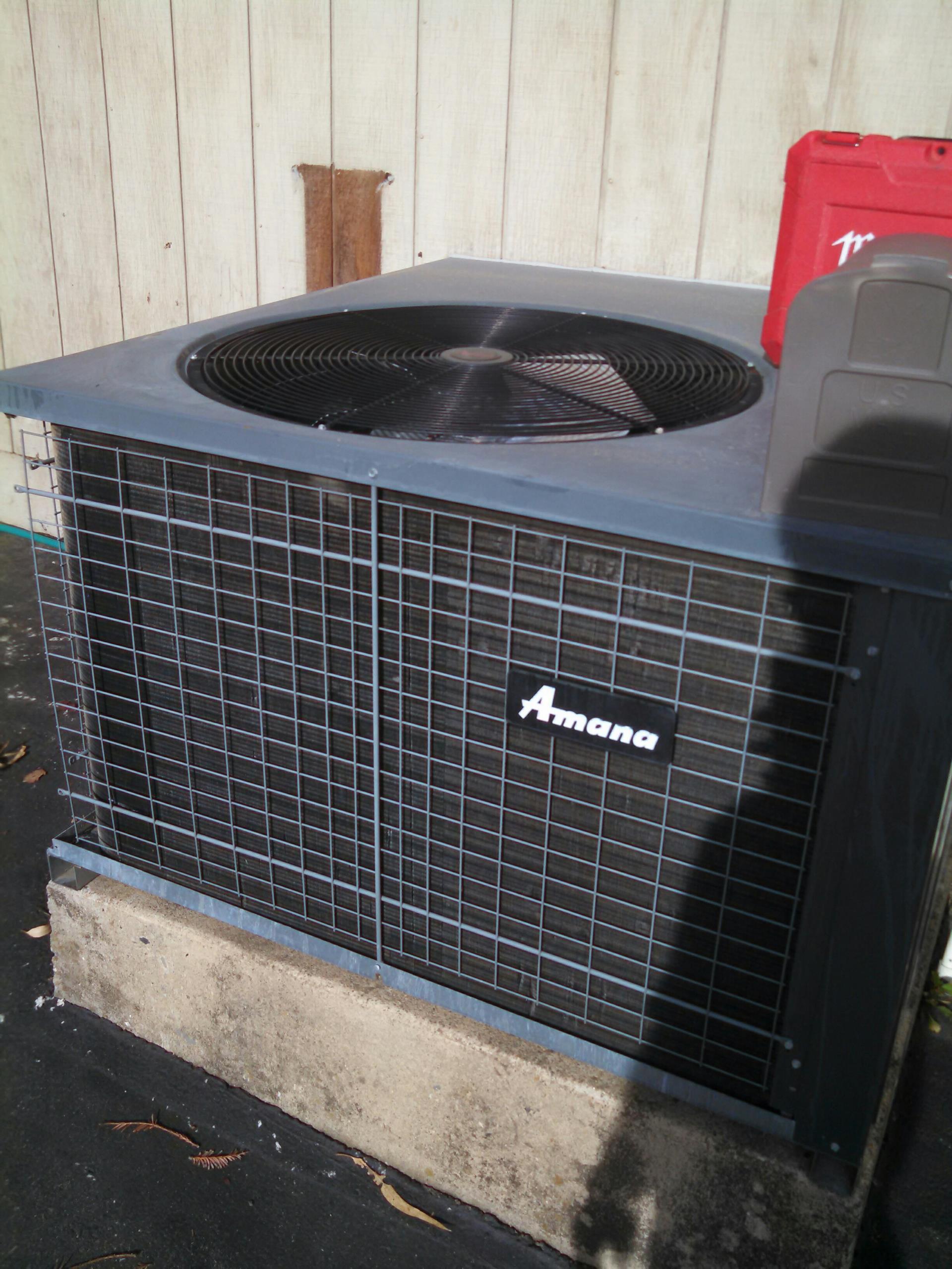 Granite Bay, CA - amana heater service