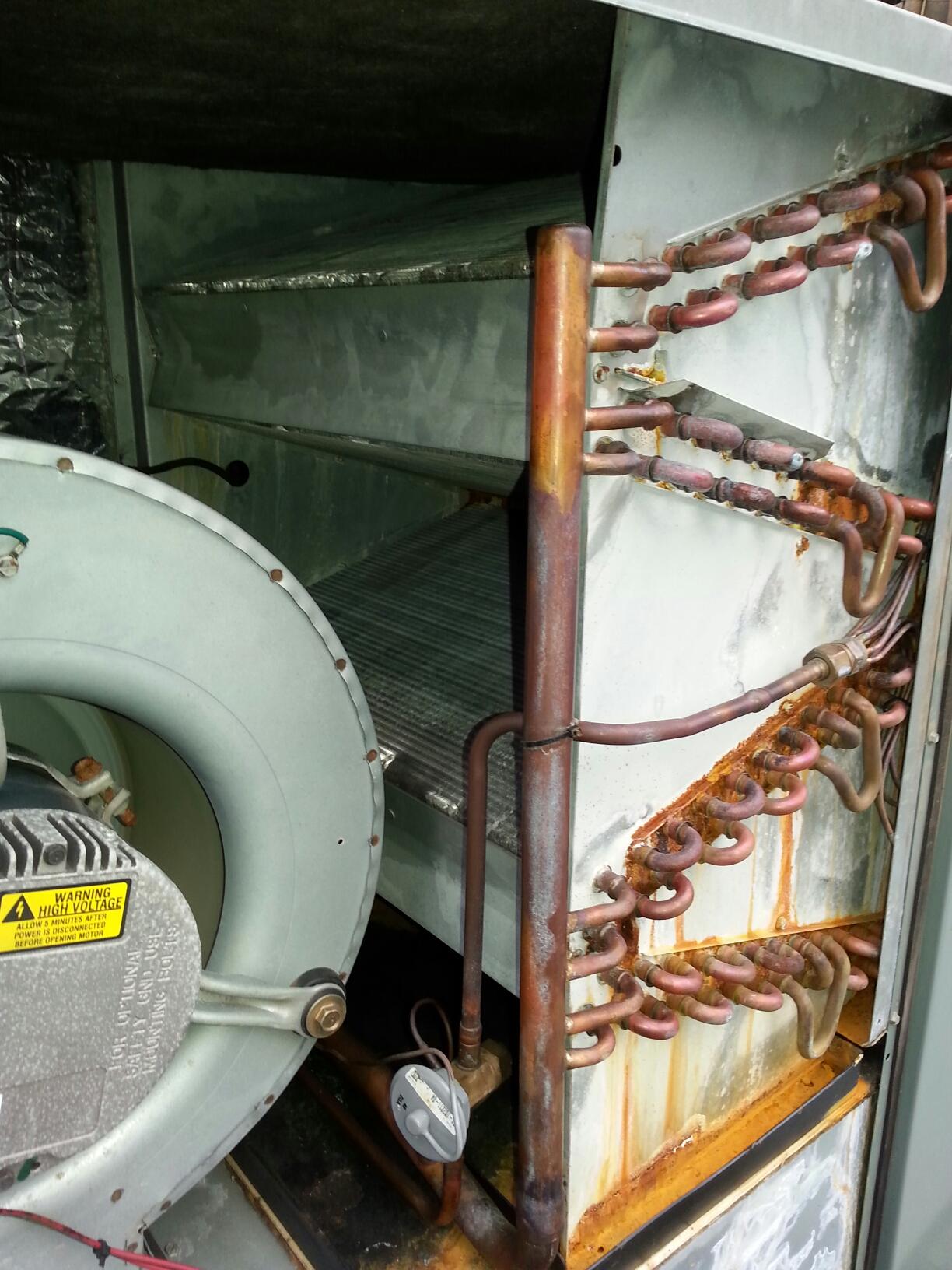 Fair Oaks, CA - Trane furnace not blowing warm air