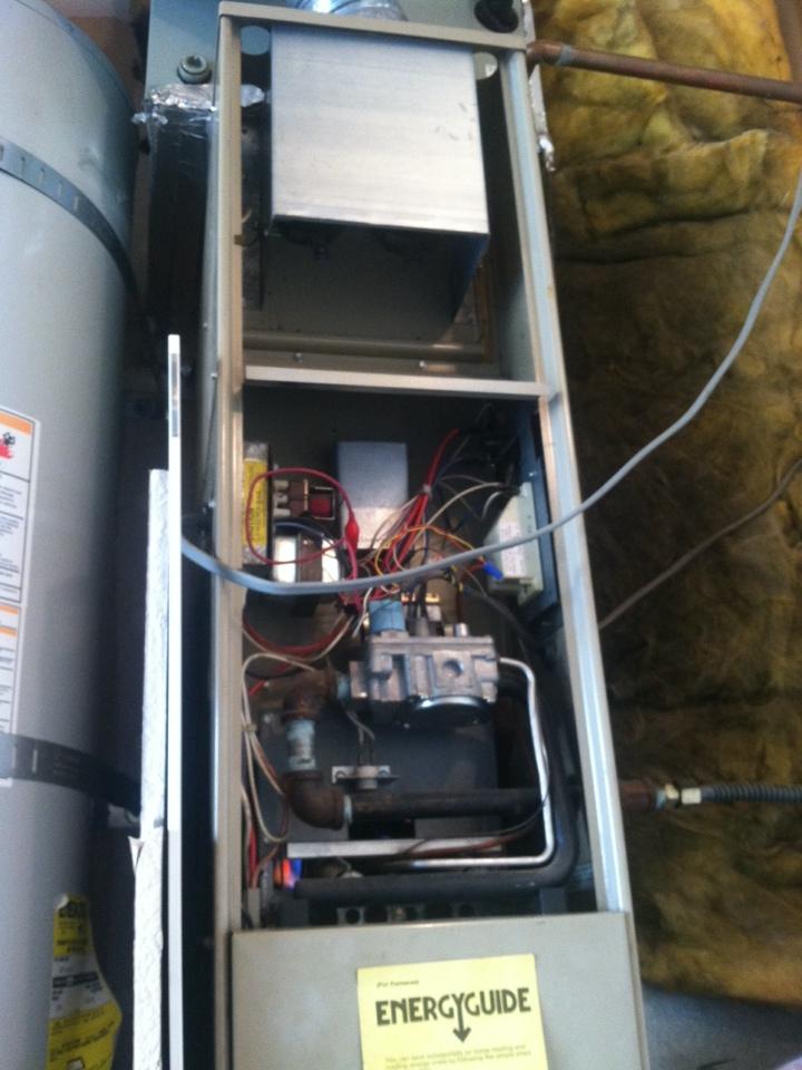 Rocklin, CA - Furnace Rejuvenation Trane system