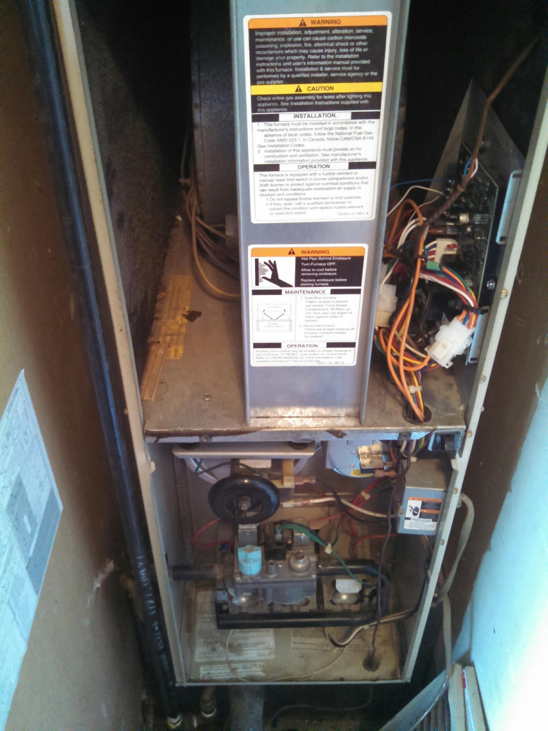 Rancho Cordova, CA - carrier service on heater