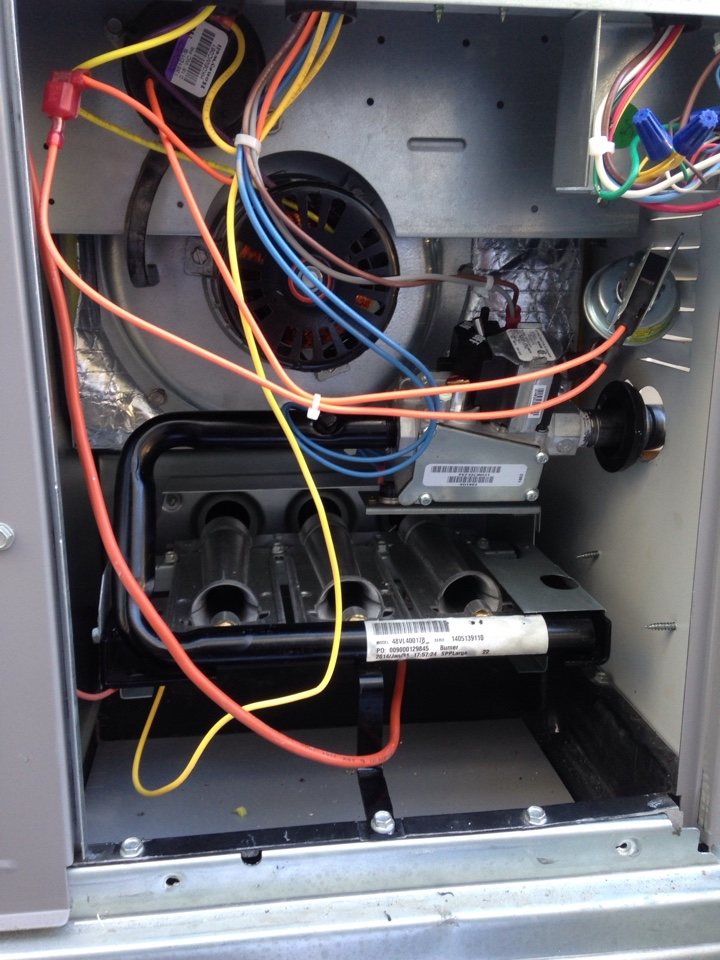 Olivehurst, CA - Heating and air conditioning Tune up service on a Coleman installation.