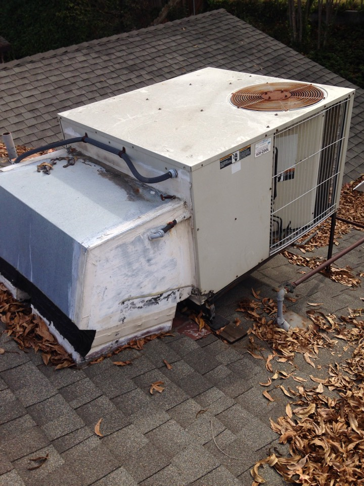 Folsom, CA - Furnace repair install and tune up on an amana