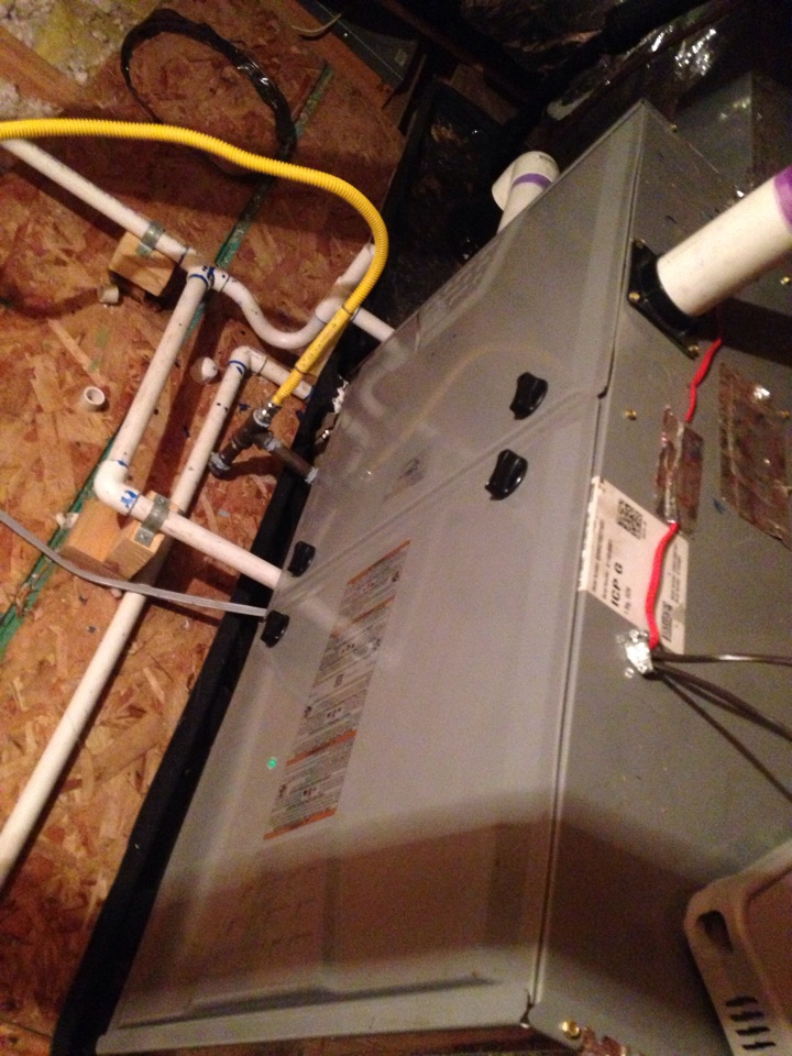 Citrus Heights, CA - Heating service and tune up on a coleman furnace