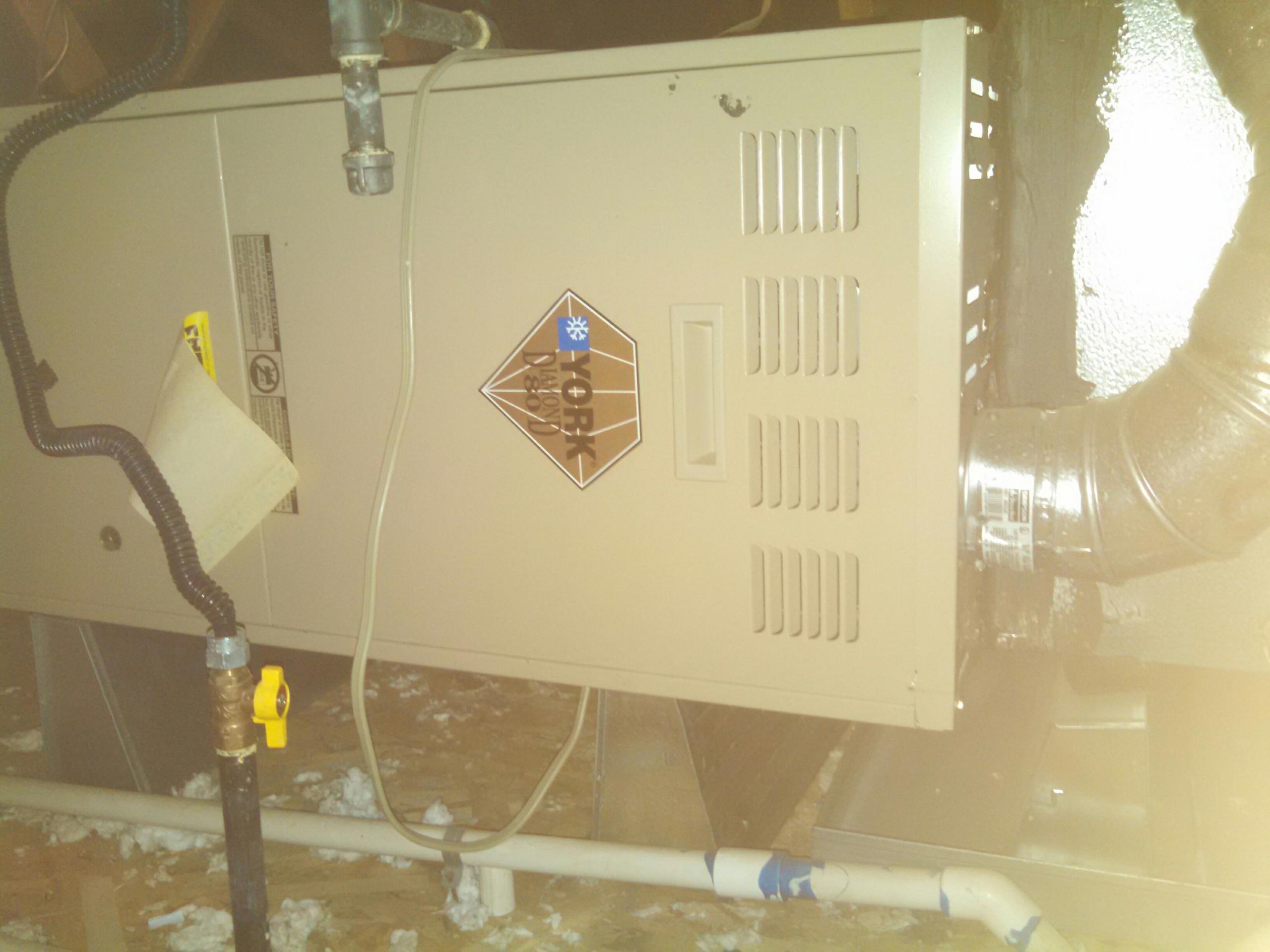 Lincoln, CA - York furnace service