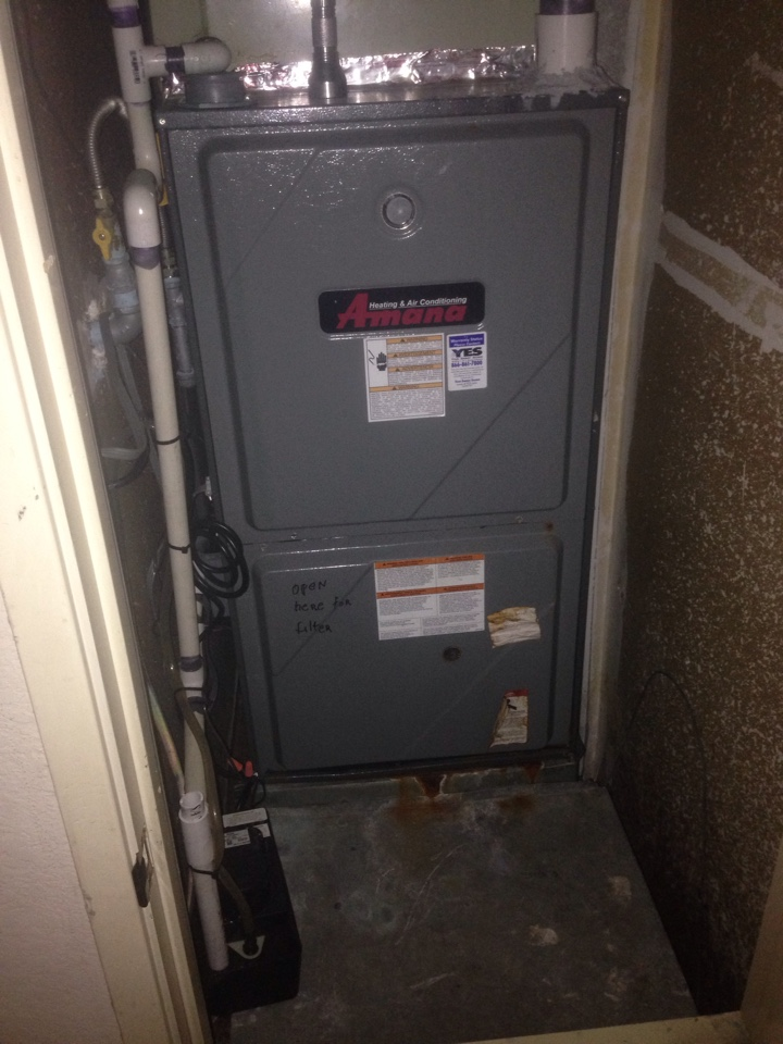 Rancho Cordova, CA - Amana heat maintenance.