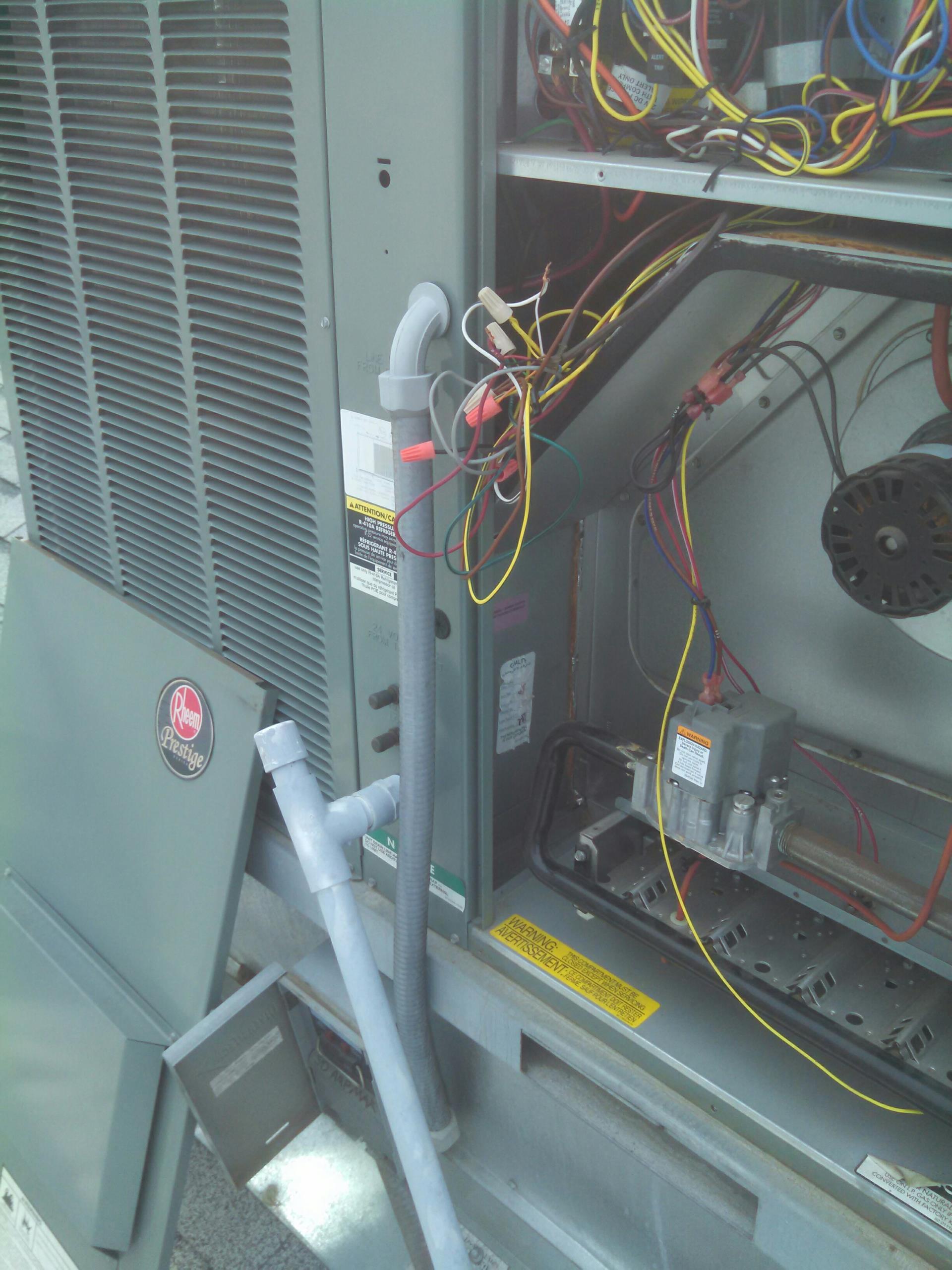 Roseville, CA - trane heater service