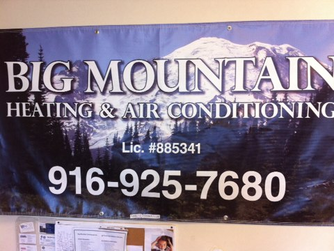 Placerville, CA - Sealing ducts and registers on newly installed system.