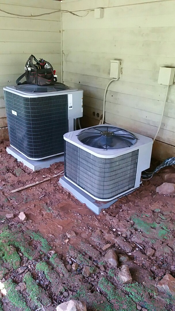 Placerville, CA - Performing AC maint on home in Placerville CA