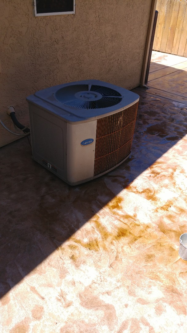 Galt, CA - I'm working on a 28 yrs. Old Carrier A/C unit located in Galt
