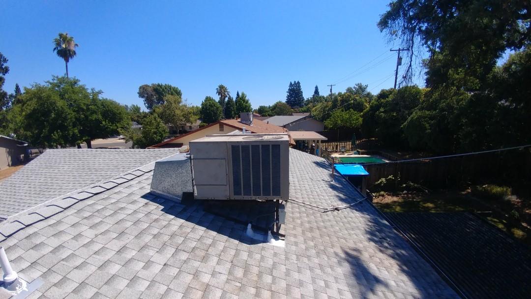 Rancho Cordova, CA - I'm working on a Goodman Gas Package unit located in Rancho Cordova, CA.
