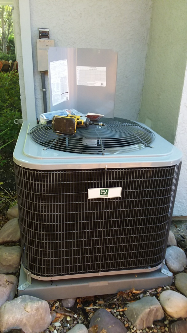 Folsom, CA - Doing AC Rejuvenation on 2015 Day and Night Big Mountain install