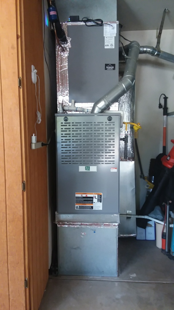 Folsom, CA - Doing ac tune up on 2013 bma insatll day and night