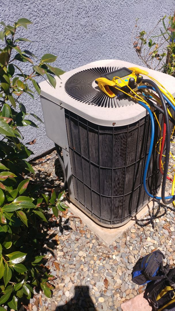 Roseville, CA - I'm working on a 20 yrs. Old Goodman A/C unit located in Roseville, Ca