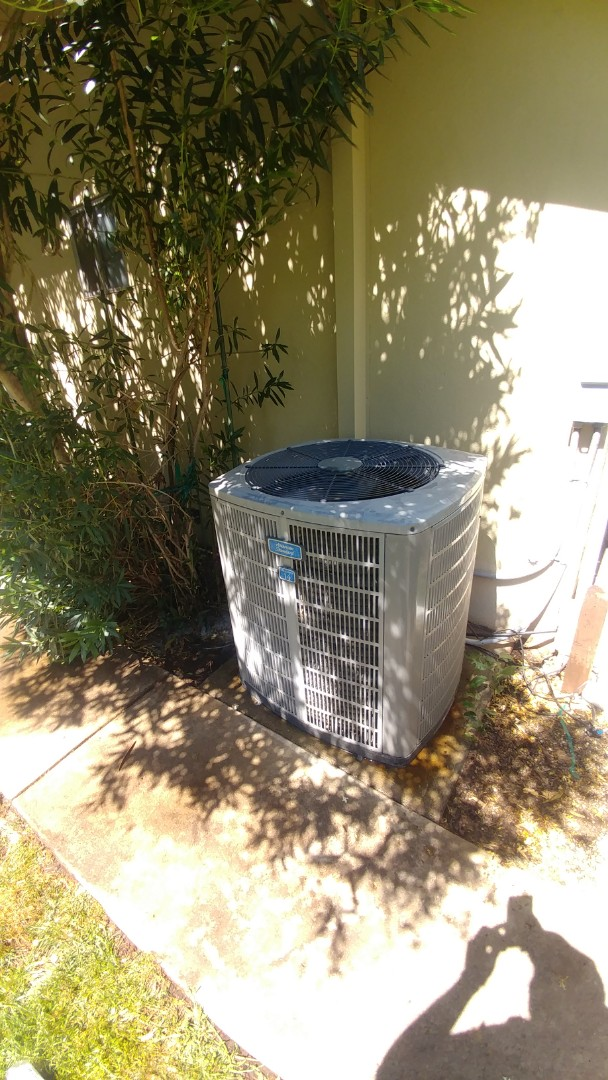 Roseville, CA - I'm working on a 14 yrs.Trane A/C unit located in Sacramento, CA