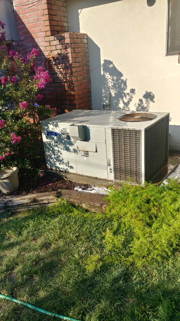 Citrus Heights, CA - I'm working on a 15 yrs. Old Trane Gas Package Unit located in Woodland, Ca