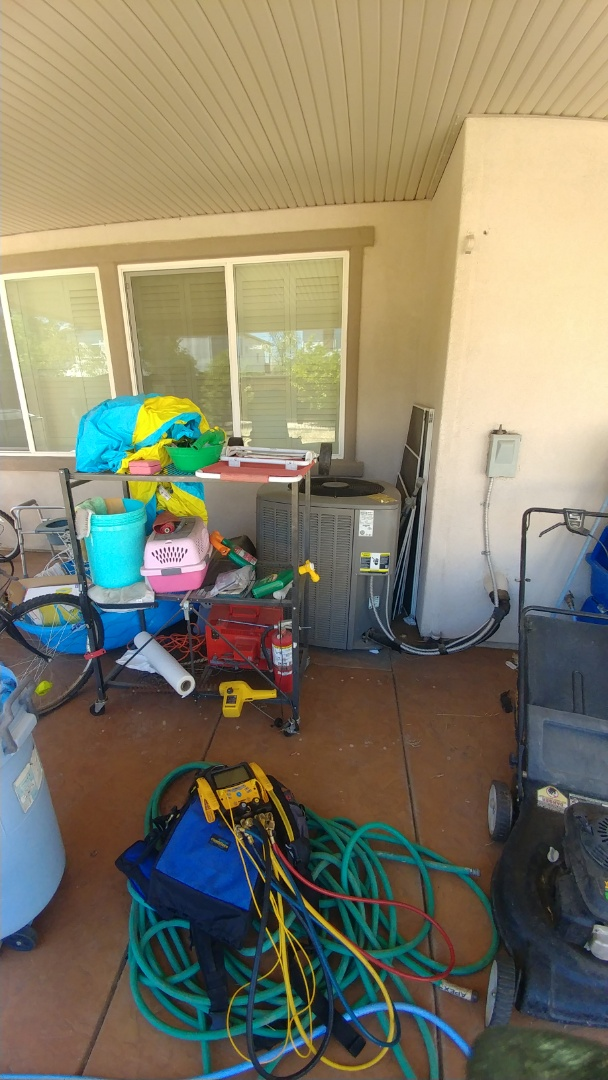 Roseville, CA - I'm working on a 10 yrs. Old Lennox A/C unit located in Roseville, Ca